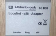 Uhlenbrock S88 to Loconet adapter