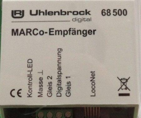 Uhlenbrock MARCo (Railcom/Loconet)