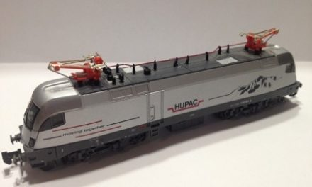 Hobbytrain Taurus full DCC (sound, lights, driver's cab lighting)