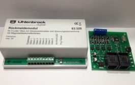 Loconet detectors: Uhlenbrock 63320 & Train Modules 56321
