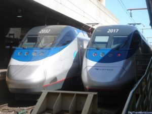 Acela Express in DC