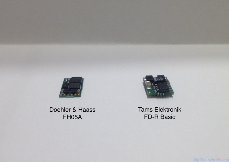 Function Decoders: Tams FD-R basic and DH FH05A