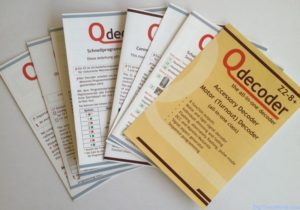 Qdecoder Z2-8+ and its manuals