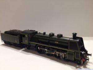 Locomotive Arnold avec générateur de fumée