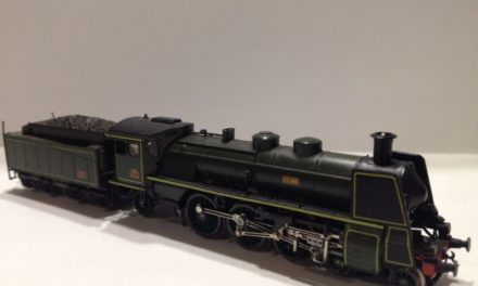 Arnold locomotive with smoke generator