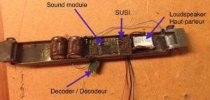 Module SUSI connecté à un haut-parleur