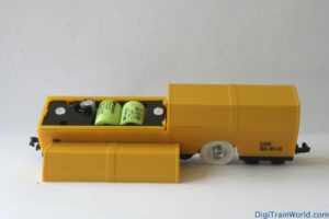 LUX Modellbau N-scale cleaning car - capacitors