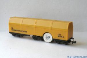 LUX Modellbau wagon nettoyeur échelle N