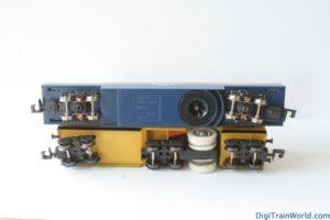 Tomix et LUX Modellbau, wagons nettoyeurs échelle N