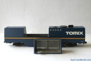 Tomix N-scale cleaning car - Vacuum container