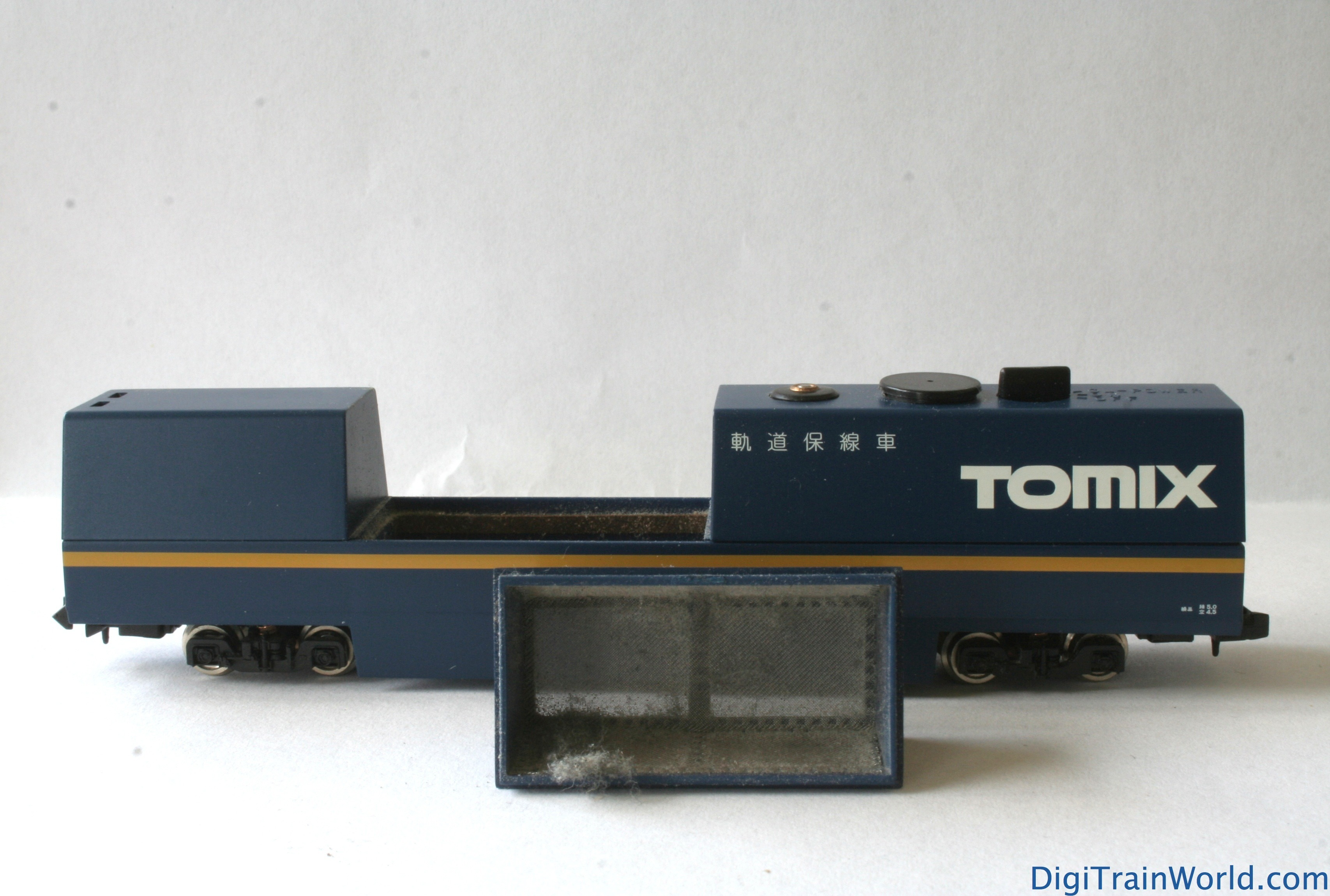 tomix track cleaning car instructions