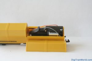 LUX Modellbau wagon nettoyeur: moteur