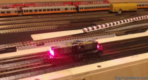 Fleischmann N - DB V100 DCC Conversion - Lights test
