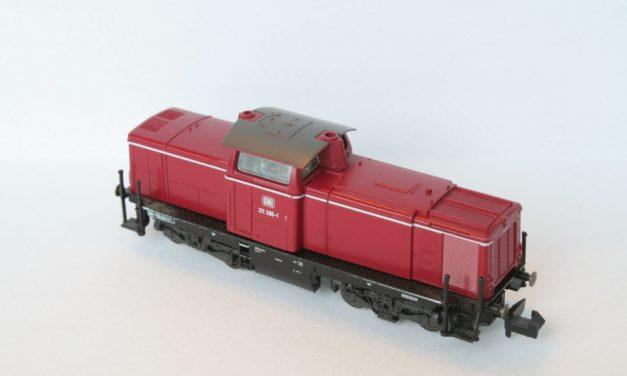 DB V100 Fleischmann: conversion DCC avec DH05C