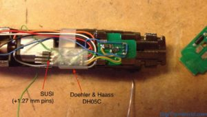 Hobbytrain 2962 and Doehler & Haass DH05C decoder