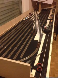 My N-scale layout - Fiddle Yard