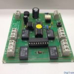 LDT SA-DEC-4-DC relay DCC decoder (electronic board)