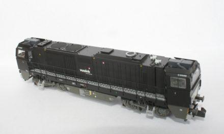 Mehano Vossloh G2000: Next18 conversion