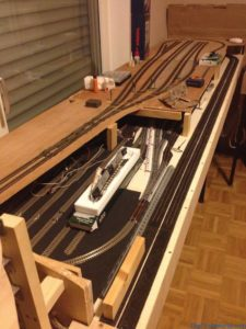 My N-scale layout - Nearly done