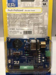 """ESU 51900 - Testeur de décodeur DCC """"Profi-Prüfstand"""" - boite"""