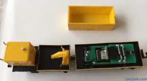 Hobbytrain H23552 - KLV 53 converti au DCC (Next18, son) - interface NEM651