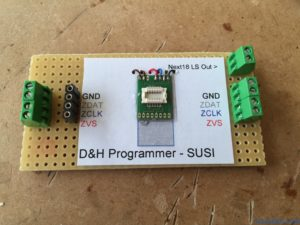 Custom Next18 board to connect to SUSI on the Doehler & Haass Programmer