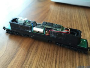 Locomotive Brawa Ludmilla - Conversion DCC, décodeur SD18A
