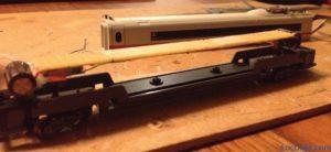 Digitalisation Minitrix 12793 ICE 3 de la DB:  platine LED bricolée pour une voiture