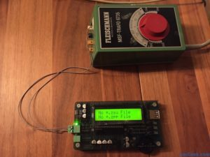 Zimo MXULFA decoder programmer first test
