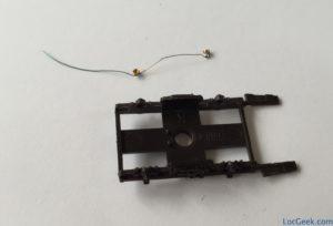 Pointes Peho soudées à un fil de cuivre avant installation