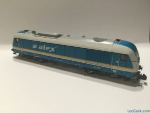 Fleischmann 726007 - Arriva BR223 Alex (Side 1)