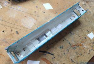 Silver lacker & driver cab LEDs