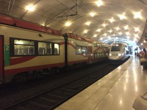 TER & TGV en gare de Monaco