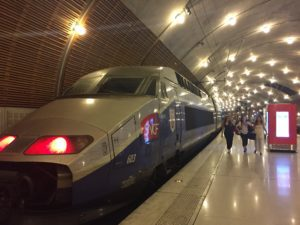 TGV in Monaco