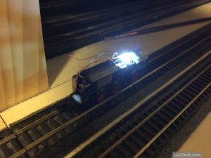 Hobbytrain 249085 - BR V363 Cottbus - Cab light test