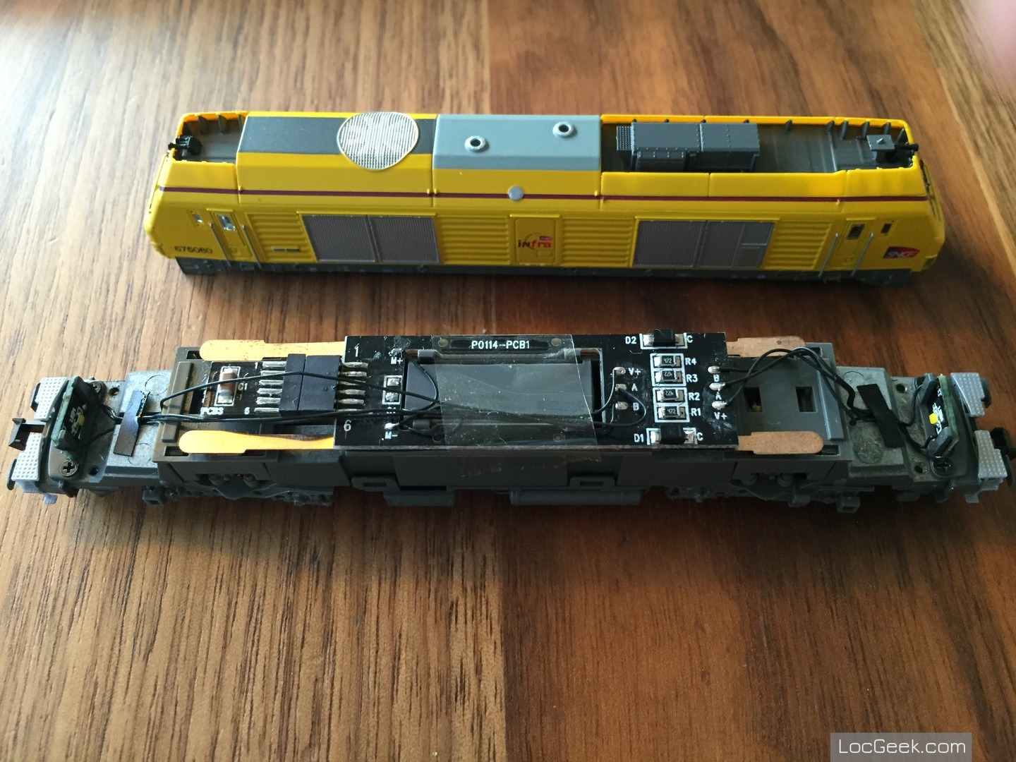 RockyRail RR675085 - SNCF BB75000 Prima Infra with NEM651 socket