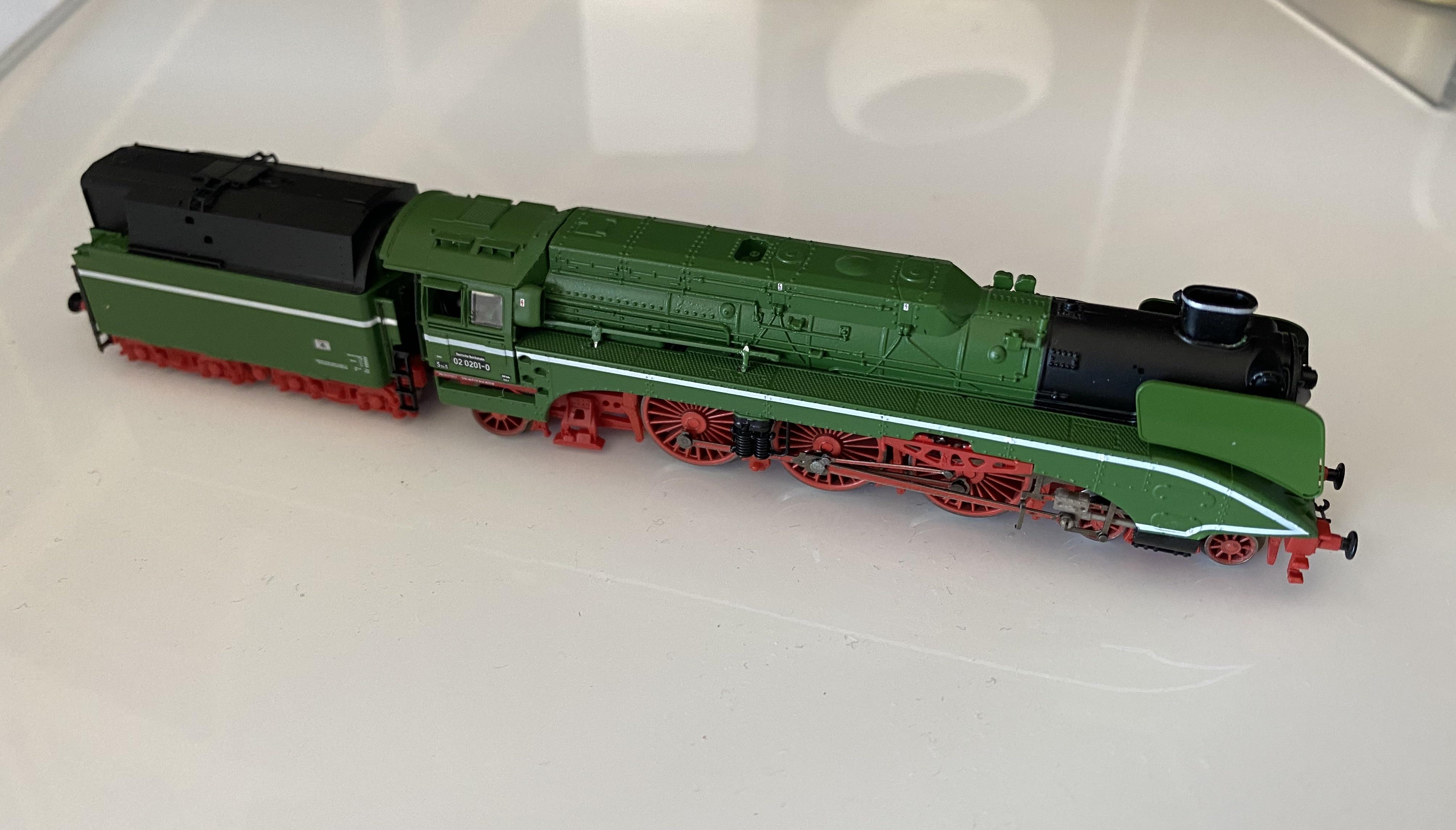 Locomotive vapeur Arnold BR 02 0201-0 (HN2428)